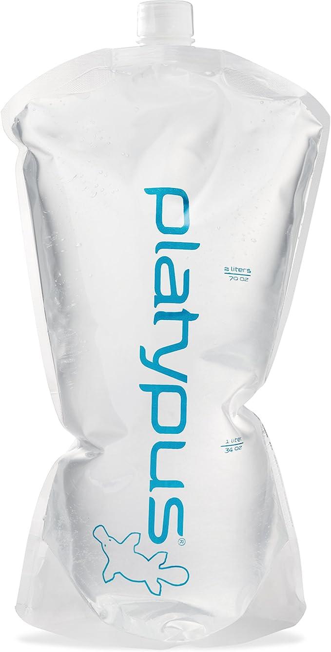 PLATYPUS HOSER HYDRATION RESERVOIR BLADDER TASTE-FREE WATER BPA//BPS FREE 2L 3L