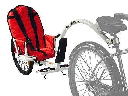Weehoo Kids iGo Blast Remolque Bicicleta de Adulto Bicicleta, Rojo, 1 Año: Amazon.es: Deportes y aire libre