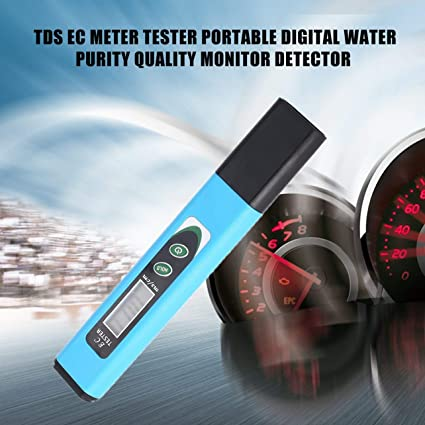 Amazon com: WOSOSYEYO TDS EC Meter Tester Portable Digital