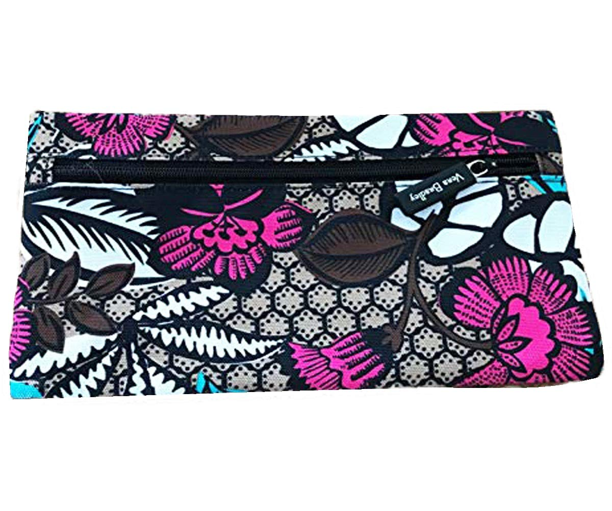 Amazon.com: Vera Bradley - Estuche para lápices (doble ...