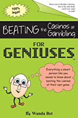 Beating the Casinos at Gambling for Geniuses: Gag Book Paperback