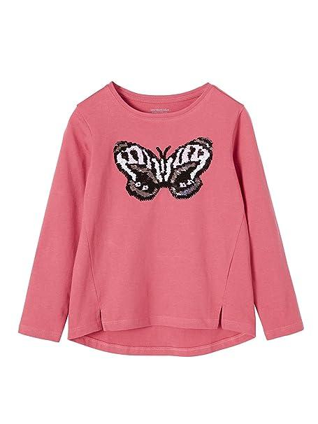 VERTBAUDET Camiseta con Lentejuelas Reversibles niña Manga Larga: Amazon.es: Ropa y accesorios