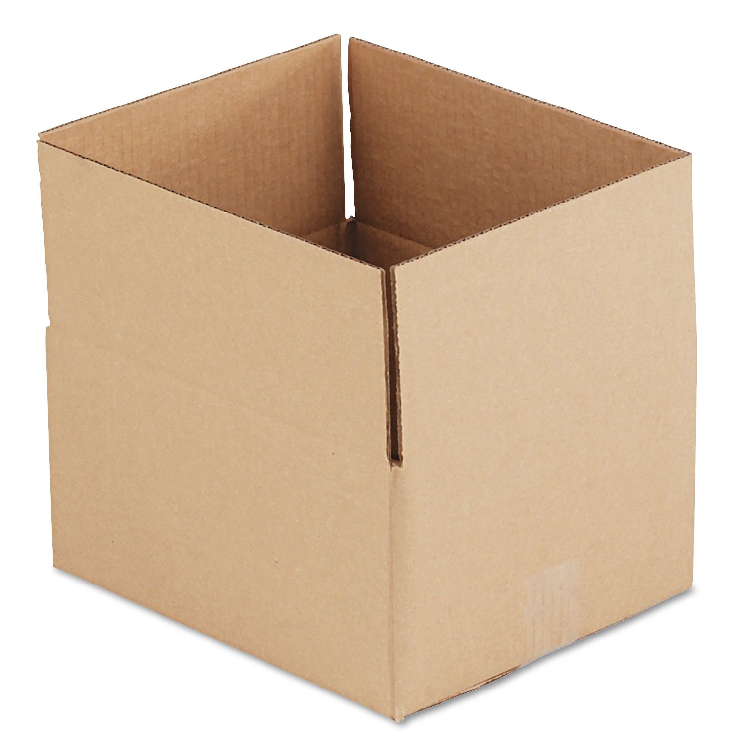 General Supply 12106 Brown Corrugated - Fixed-Depth Shipping Boxes, 12l X 10w X 6h, 25/Bundle