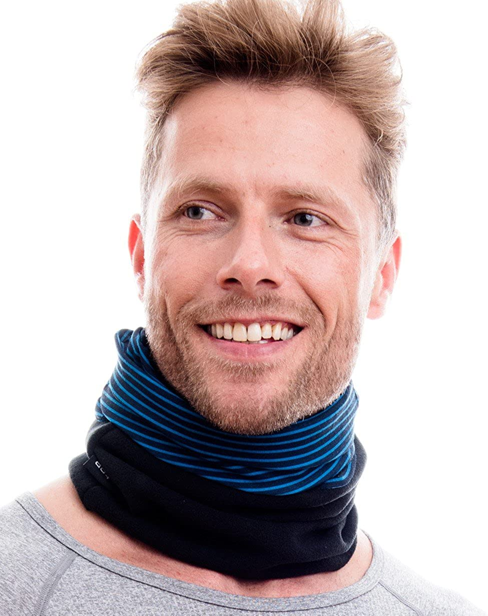cool design in trendy colours tube scarf for both men and women ski face mask HILLTOP Polar multifunctional scarf with fleece motorcycle scarf shawl
