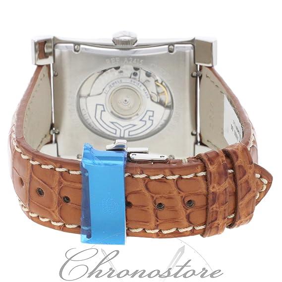 Cuervo Y Sobrinos A2415 - Reloj para hombres, correa de cuero: Amazon.es: Relojes