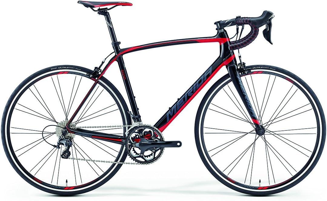 Merida Scultura 5000 28 pulgadas bicicleta Carbon Negro/Rojo (2016 ...