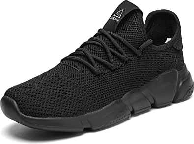 A-PIE Men's Running Shoes Fashion Sneakers Casual Walking Shoes Lightweight