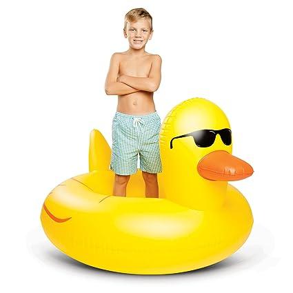 Pato de goma gigante piscina flotador