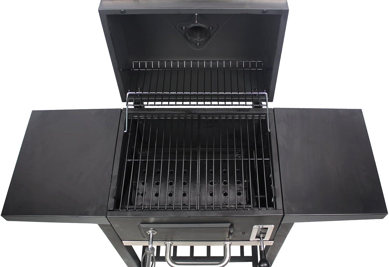 Tepro Toronto Holzkohlegrill Bauanleitung : Tepro toronto einbrennen smoker grill kaufen ratgeber profi