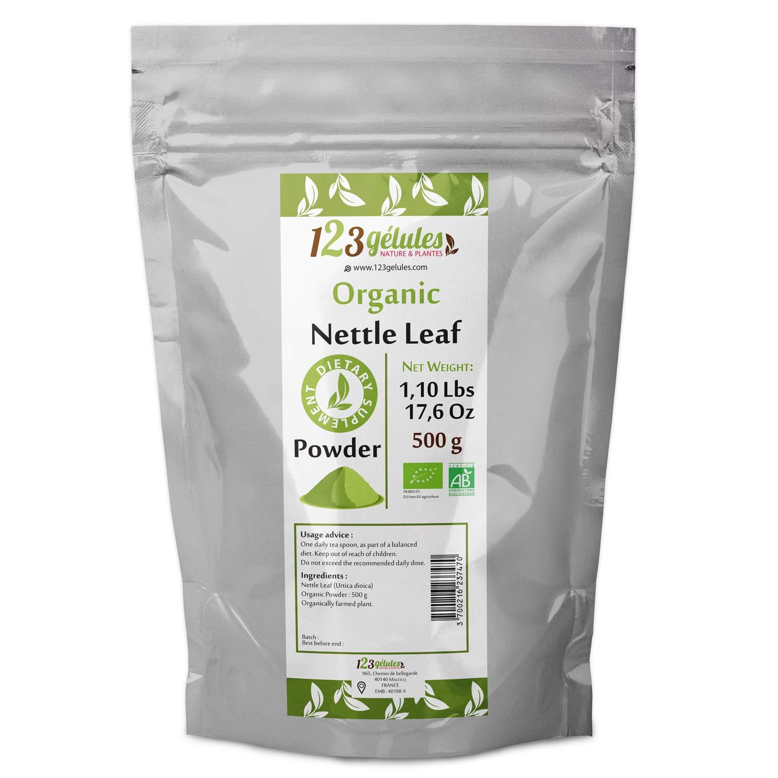 Organic Nettle Leaf Powder 500g - 1.10 Lbs