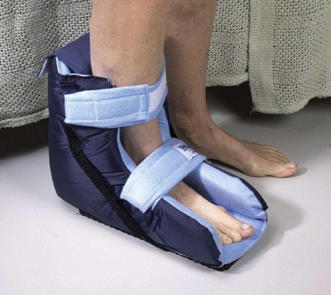 Heel-Float - Heel Protector Boot - Large / Bariatric Blue-McK