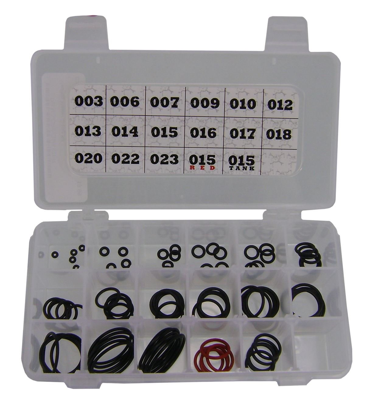 Maddog Master Paintball O-Ring Replacement Kit - 85 Total O-Rings with Storage Case by MAddog
