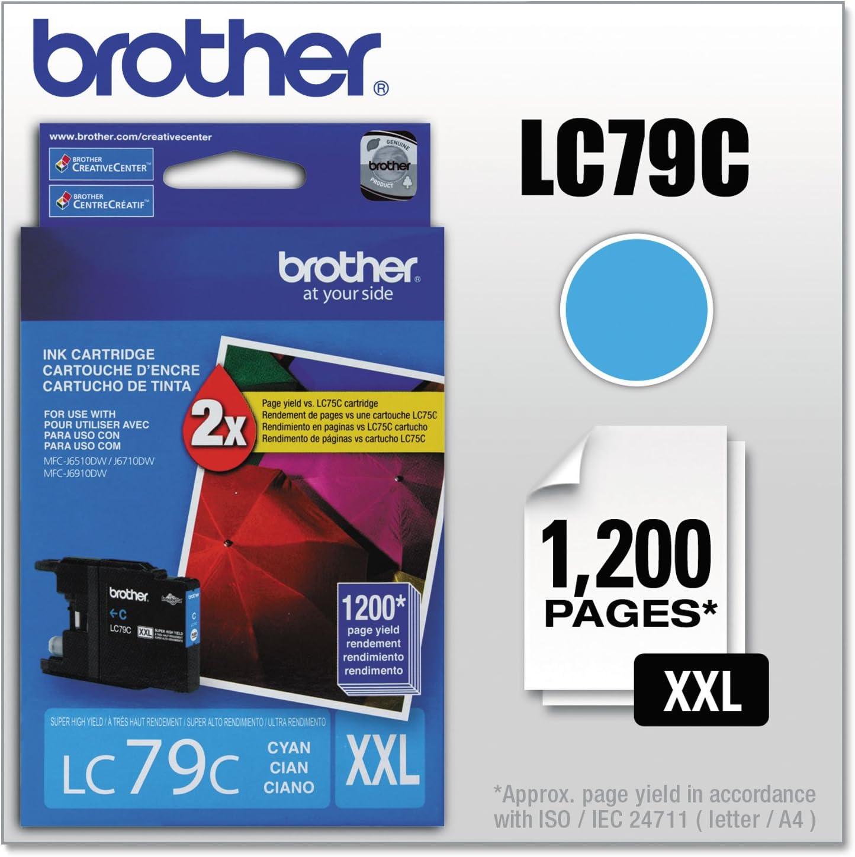BRTLC79BK Brother Innobella LC79BK High Yield Ink Cartridge