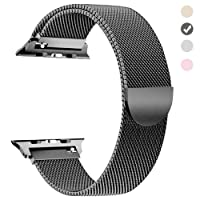 yamen Compatible Apple Watch Band 38mm 40mm Milanese Loop iwatch Band 42mm 44mm Series 2 Series 3 Series 4