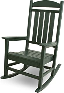 product image for POLYWOOD R100GR Presidential Rocking Chair, Green