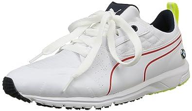 57d1754d0778d5 Puma Unisex Adults  BMW MS Pitlane Low-Top Sneakers White Size  6.5 UK