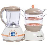 Babymoov Cuiseur & Mixeur Nutribaby Abricot/Taupe