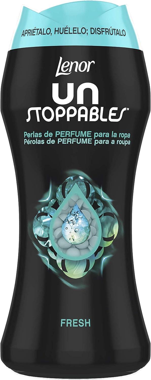 Lenor Unstoppables Fresh Perlas Impulsoras De Fragancia - 1 x 210gr, 15 lavados