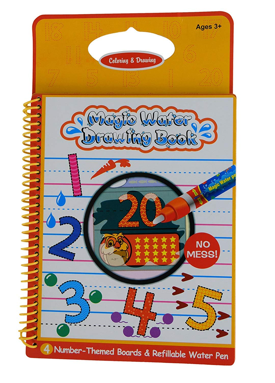 Other Baby Bathing & Grooming Libro De Magia De Rangebow Agua Reutilizable Dibujo Y La Pluma Mági Bathing & Grooming gc00601