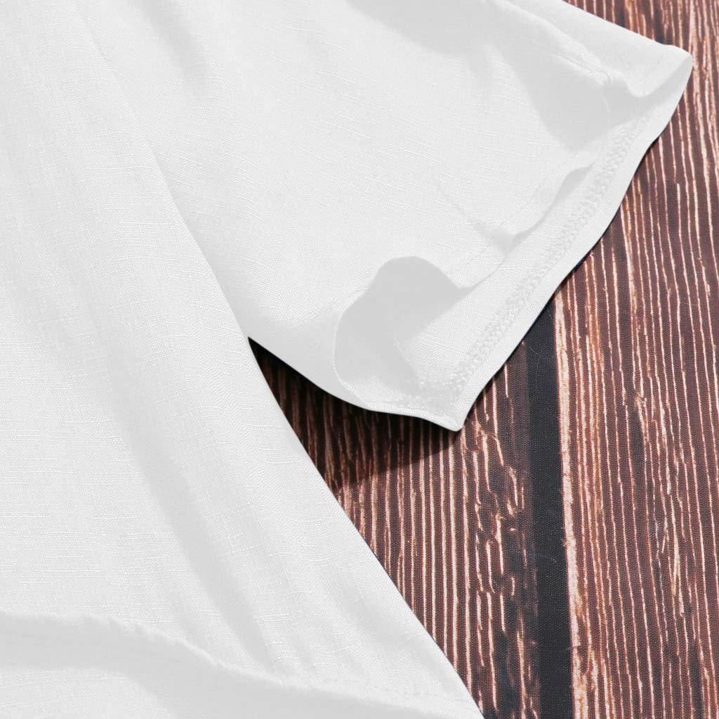 Wave166 Mujeres Verano Camisetas Pullover Casual Camisa Manga ...