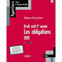 Droit civil 2e année, les obligations 2019 - 11e éd.