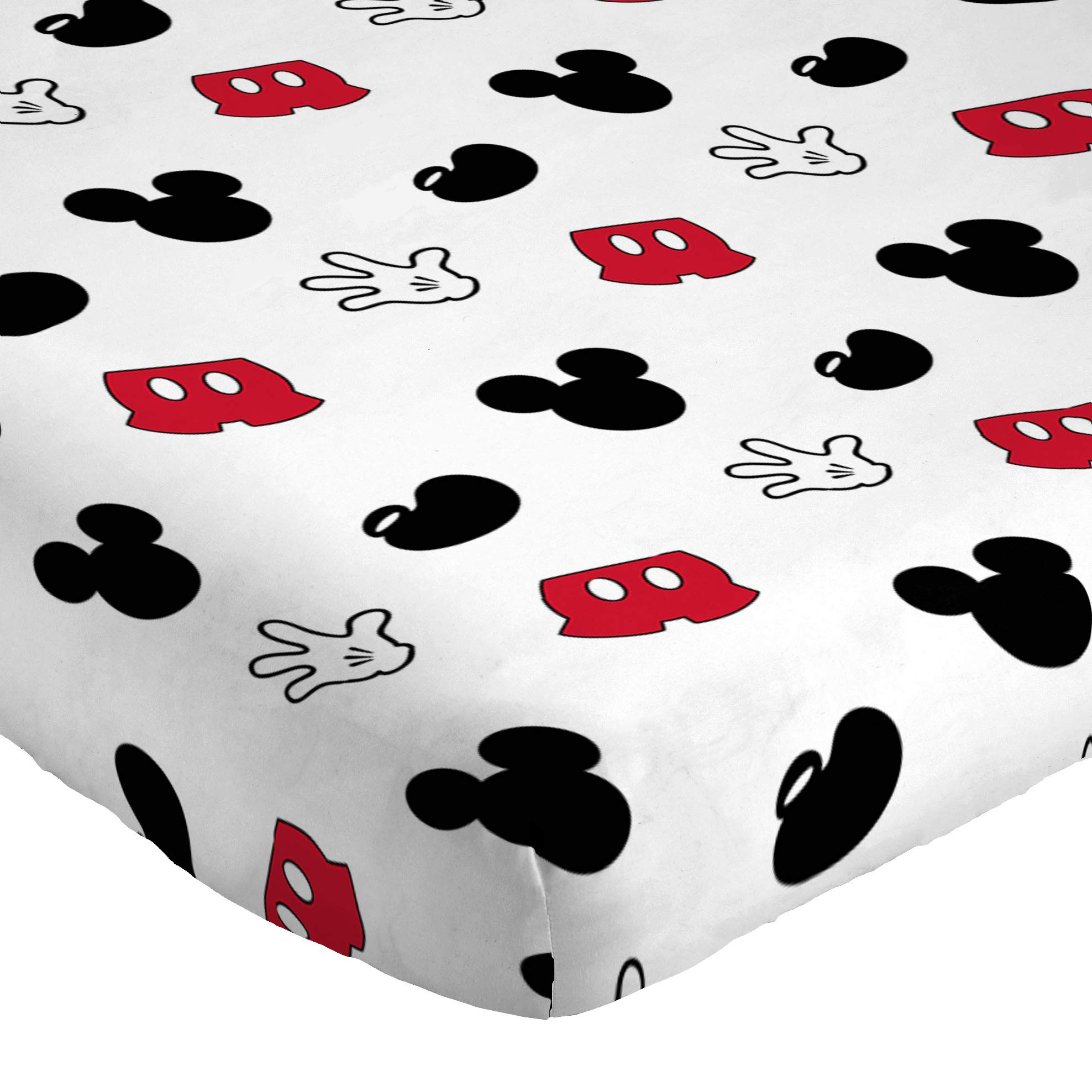 Jay Franco Disney Mickey Mouse Cute Faces 4 Piece Twin Bed Set - Includes Reversible Comforter & Sheet Set - Super Soft Fade Resistant Polyester - (Official Disney Product) by Jay Franco (Image #3)