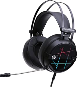 HP Gaming Headset Xbox one Over Ear Gaming Headphones for PC/MAC/PS4/Xbox one Stereo Headset Wired PC Gaming Headphones with Adjustable Mic