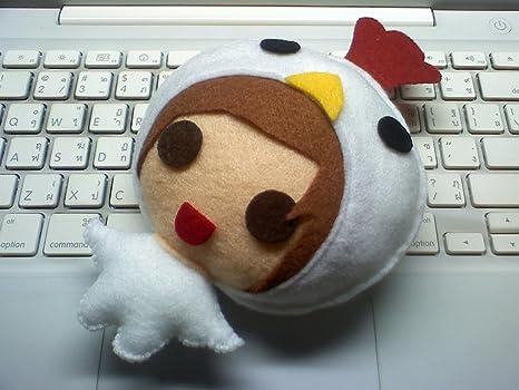 [M Size] Shinee Taemin - Hello Baby Animal KPOP Handmade Doll Keychain