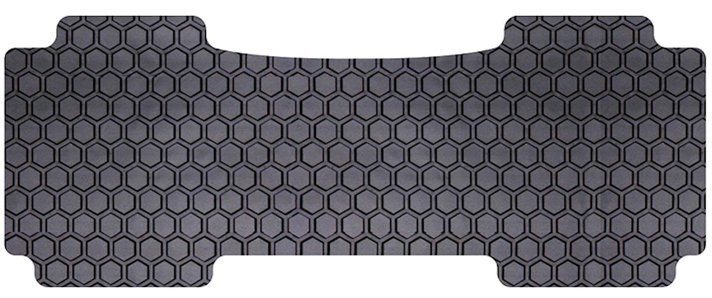 Intro-Tech LC-158-RT-B Hexomat Second Row 1 pc Rubber-Like Compound Black Custom Fit Auto Floor Mat for Select Lincoln Navigator Models w//2nd Row 40//20//40 Bench