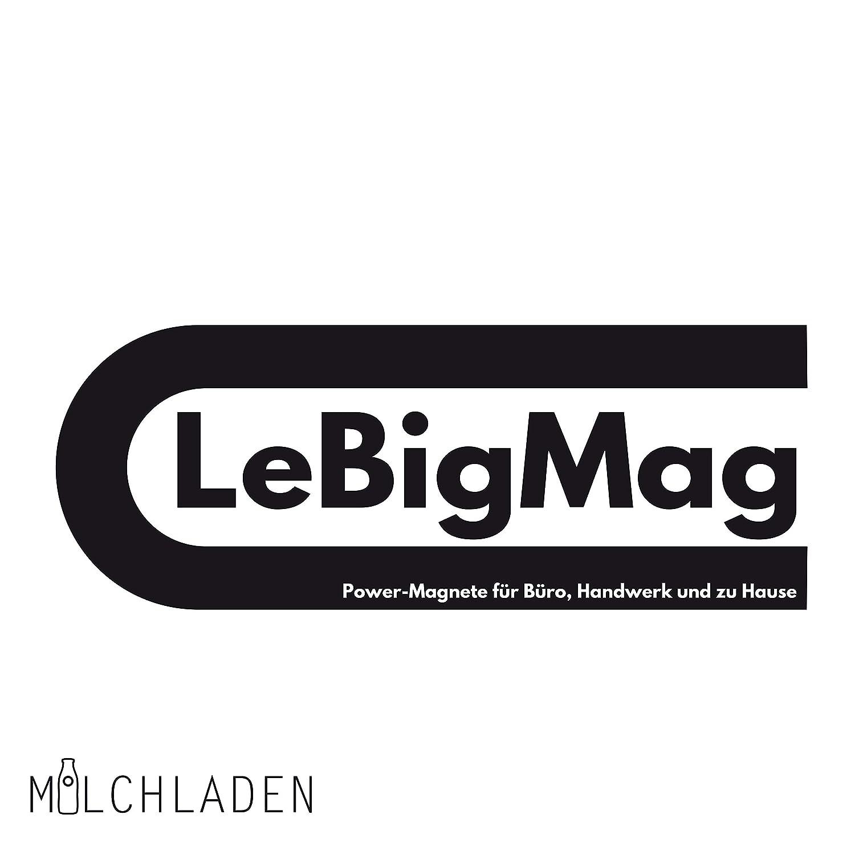 Milchladen Lot de 2 Mini Baguettes magn/étiques en n/éodyme tr/ès puissantes /à Visser