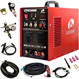 Lotos LTPDC2000D Plasma Cutter Tig Stick Welder 3 in 1 Combo Welding Machine, 50Amp Non-Touch Pilot Arc Plasma Cutter,  200A TIG/ Stick Welder Dual Voltage 220V/110V