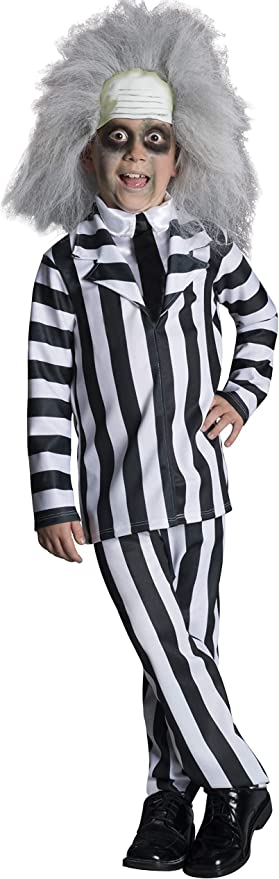 Amazon Com Rubie S Beetlejuice Deluxe Child Costume Small Toys Games