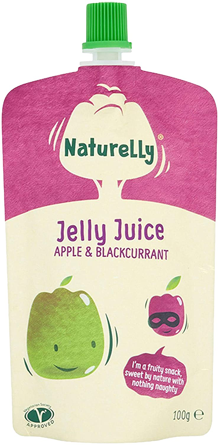 Naturelly Juicy Jelly Summer Fruits 100g (Pack of 12) 82925