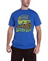 Scooby Doo T Shirt Mystery Machine Official Mens Blue