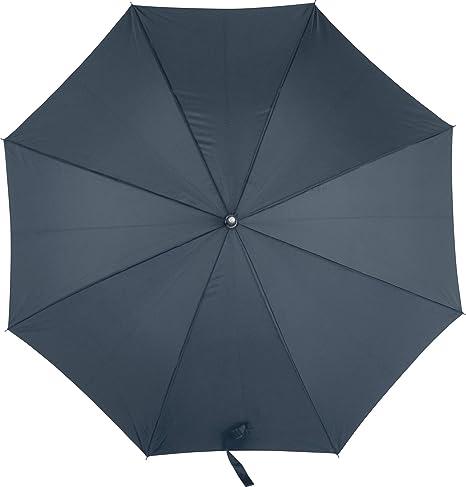 Paraguas para Hombre Mujer Tamaño Grande Abierto automático con Mango Recto en Azul