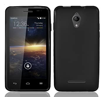 FUNDA de GEL TPU NEGRA para VODAFONE SMART 4 TURBO: Amazon.es: Electrónica