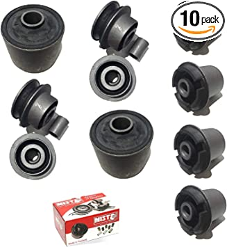 NISTO Front Upper Lower Control Arm Bushing for 2007-2012 Lexus LS460 RWD 2008-2016 Lexus LS600h Nisto Rubber Manufacturing