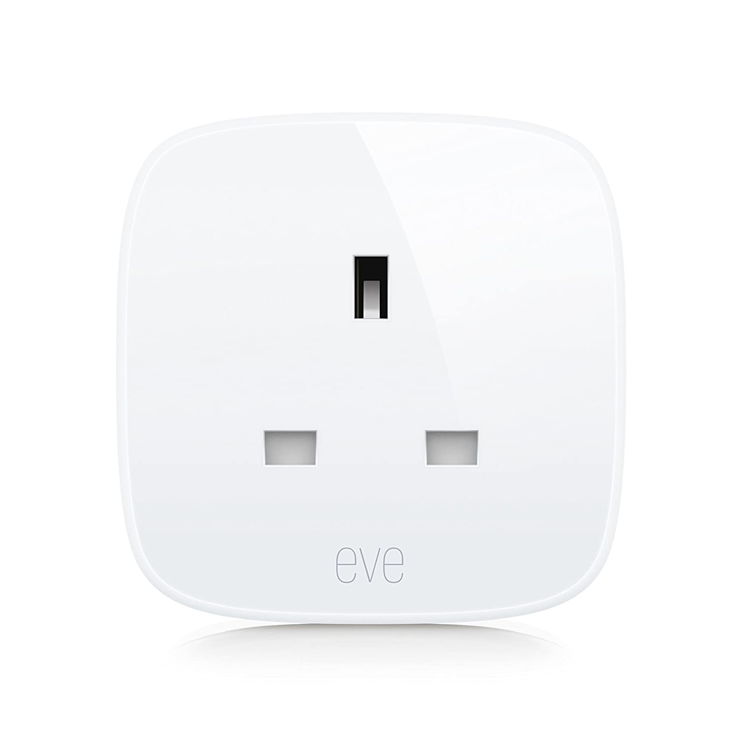 Eve Energy Uk Smart Plug Power Meter Switch A Connected 13 Amp Top Bs1363 Stevenson Plumbing Electrical Supplies Device On And Off Voice Control Bluetooth Low Apple Homekit Tv