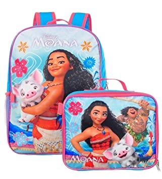 Disney Moana - Mochila escolar, bolsa para el almuerzo, para niñas: Amazon.es: Hogar