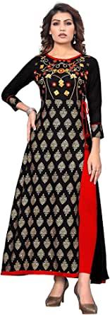 stylishfashion Readymade Cotton Long Women Dress Kurti for Women Formal & Party Wear Kurta Tunic