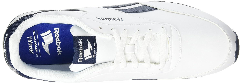 7319b6a386a Reebok Men s Royal Classic Jogger 2l Low-Top Sneakers White  Amazon.co.uk   Shoes   Bags