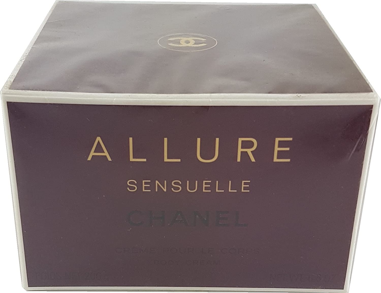 Chanel Allure Body Cream.Allure Sensual Of Chanel Body Cream 200 Ml