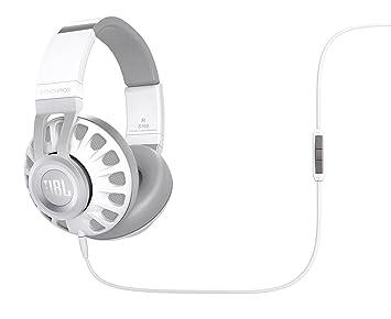 JBL Synchros S700 Auriculares supraaurales almohadillados de alta calidad con mando de control/micrófono en-línea, compatible con dispositivos iOS de Apple ...