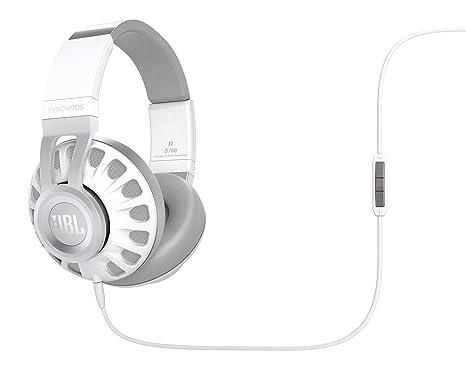 JBL Synchros S700 Auriculares supraaurales almohadillados de alta calidad con mando de control/micrófono en