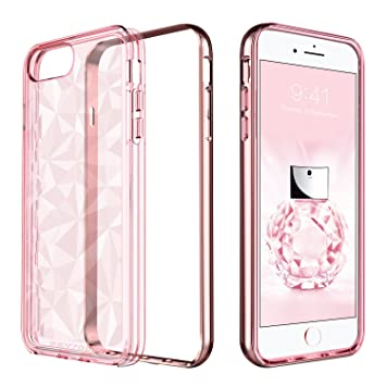 febaf44855f BENTOBEN Funda iPhone 6 Plus, Carcasa iPhone 6s Plus, Capa Case Cover TPU  Suave
