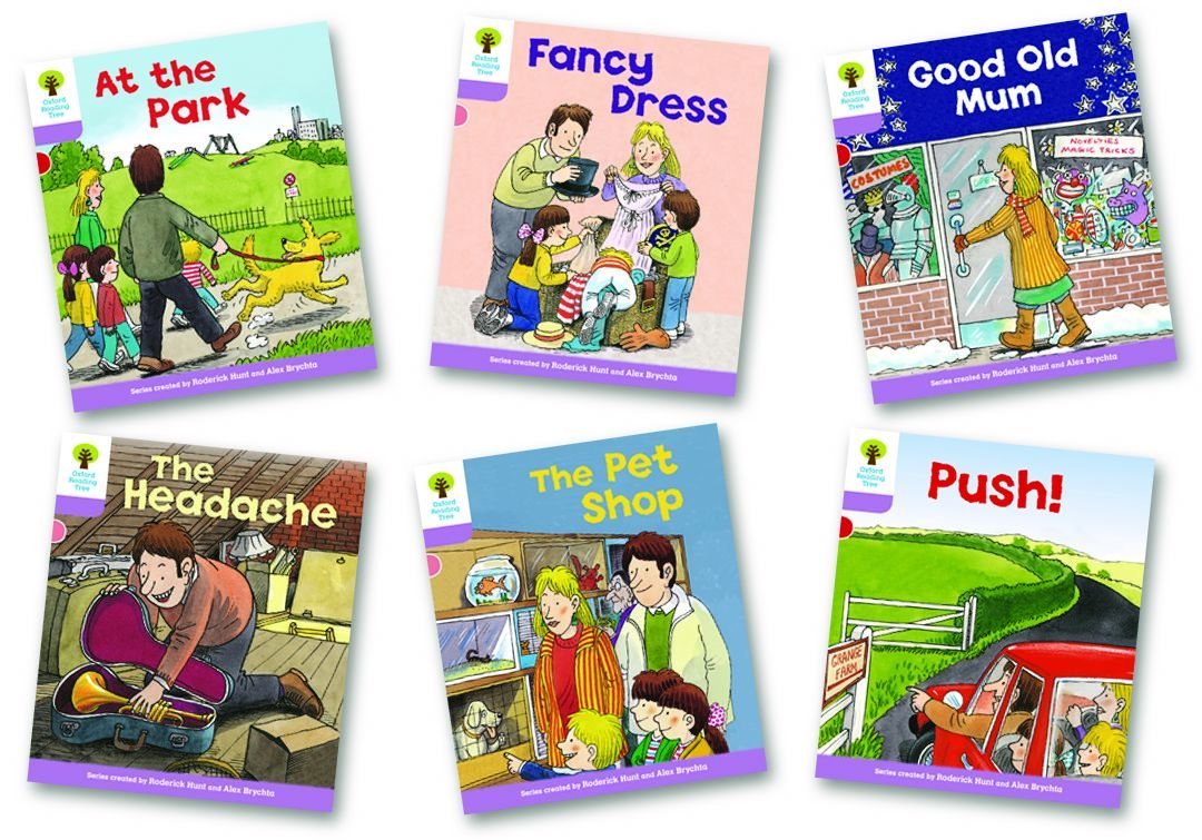 Download Oxford Reading Tree Stage 1+: Patterned Stories: Pack of 6 pdf epub
