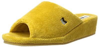 Romika Damen Paris Pantoffeln, Gelb (Safran), 40.5 EU(7 UK)