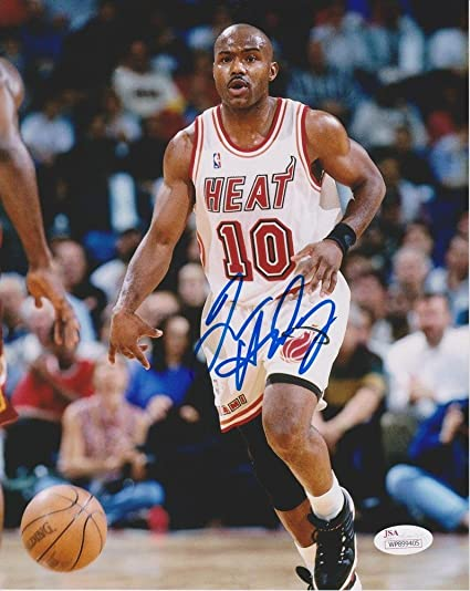 new style 9ba7c 32e81 Tim Hardaway Signed Autographed 8x10 Photo JSA Certified ...