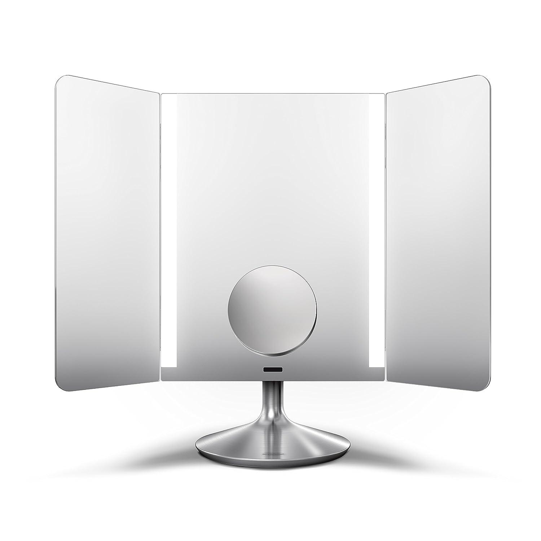 Simplehuman ST3002 Specchio di montaggio a parete con sensore