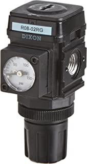 Dixon R08-02RG Wilkerson Miniature Regulator with Gauge, 1/4